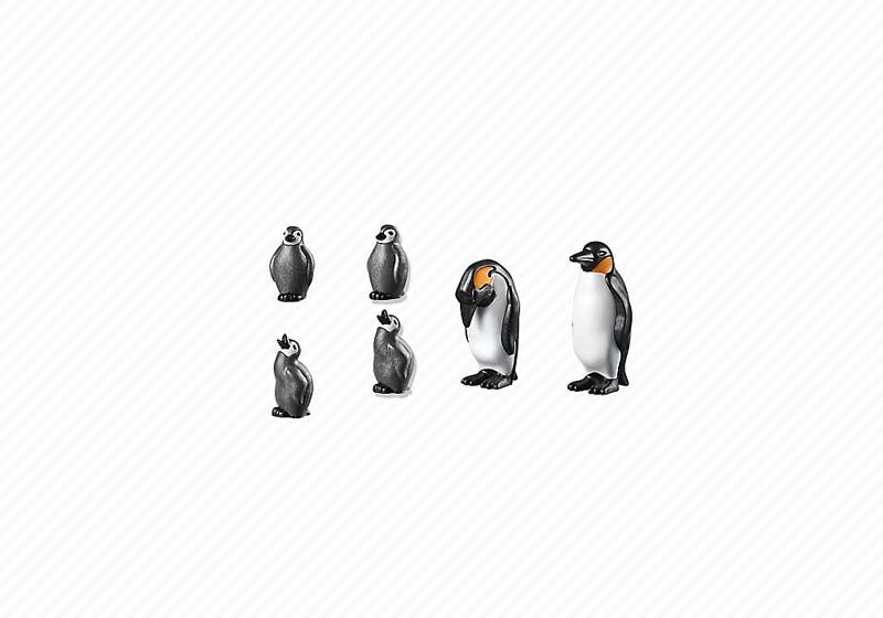 Contenido de Playmobil® 6649 Familia de Pingüinos