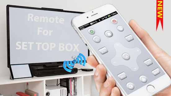 Set Top Box remote control app new - náhled