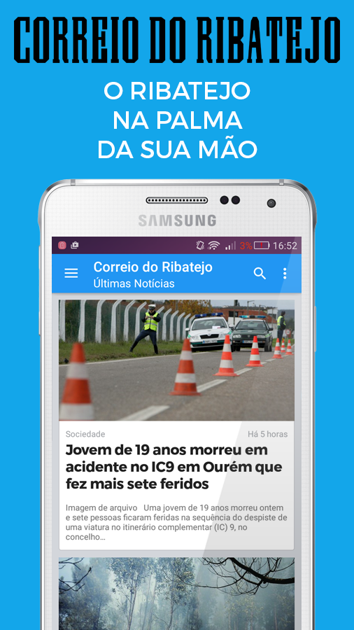 Correio do Ribatejo- screenshot
