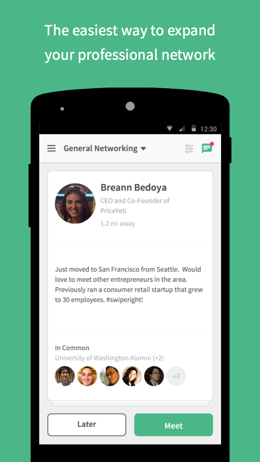 Weave - Local Networking - screenshot