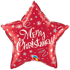 Folieballong, Merry Christmas