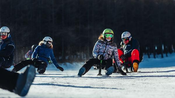 Ski Snooc luge en famille avec enfants activité