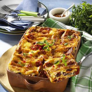 Chili Lasagne.