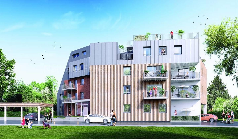 Appartement avec terrasse Marcq-en-Baroeul
