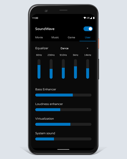 Sound booster SoundWave 20.06.24 screenshots 4