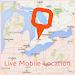 Live Mobile Location and GPS Coordinates Icon