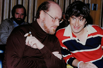 Photo: John Williams conversa com Steven Spielberg. Brian De Palma ao fundo.  http://filmesclassicos.podbean.com