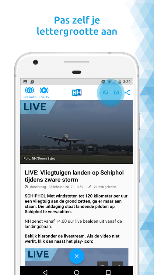 NH Nieuws- screenshot