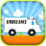 Jumpy Ambulance Racing Driving