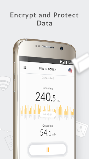 VPN in Touch, Unlimited Proxy 2.8.2 screenshots 1