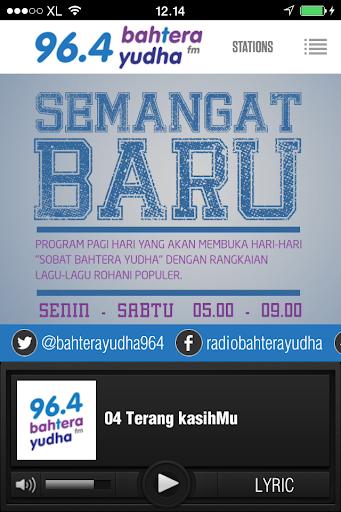 Bahtera Yudha 96.4 FM