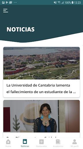Universidad de Cantabria screenshot 6