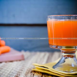 Carrot Juice.