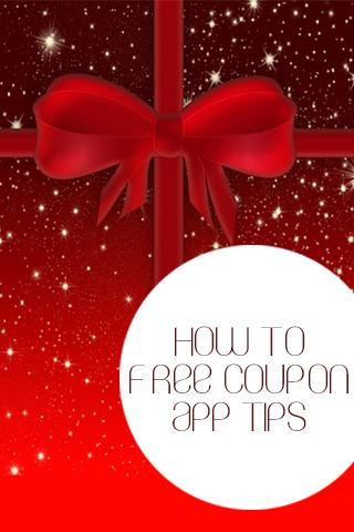 How To Free Coupon App Tips