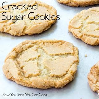 Cracked Sugar Cookies