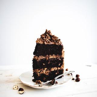 Chocolate Hazelnut Cake with Gianduja Crunch
