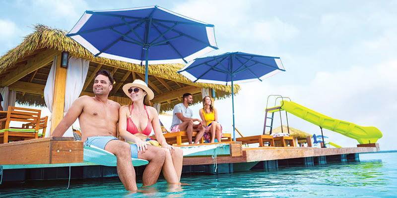 Pay for one guest and get the second fare for 60% off when you book a Royal Caribbean cruise.