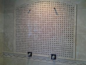 Photo: New bath in Merrick, NY with radiant heat.