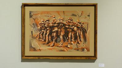 Photo: CityLeaks 2015; Ausstellung Galerie 30Works; TANKPETROL, PPLvsPVRTY Riot Red Version