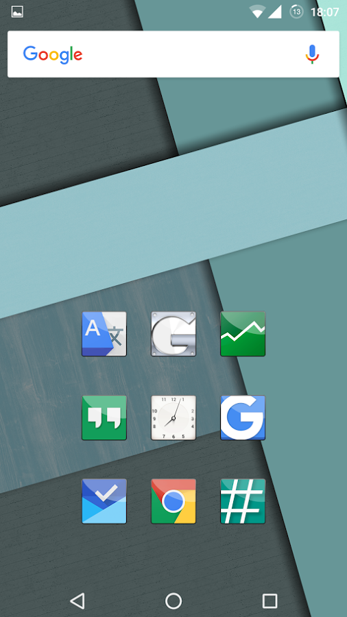 Essential COLOR's Icon Pack- screenshot