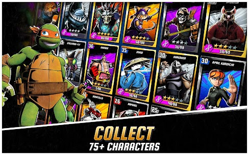 Ninja Turtles: Legends MOD (Unlimited bonuses,/mutagens/bucks) 4