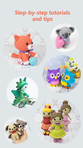 Tiny animal collection ☺️💐 Find the... - Amigurumi Today - Free amigurumi  patterns | Facebook | 512x288