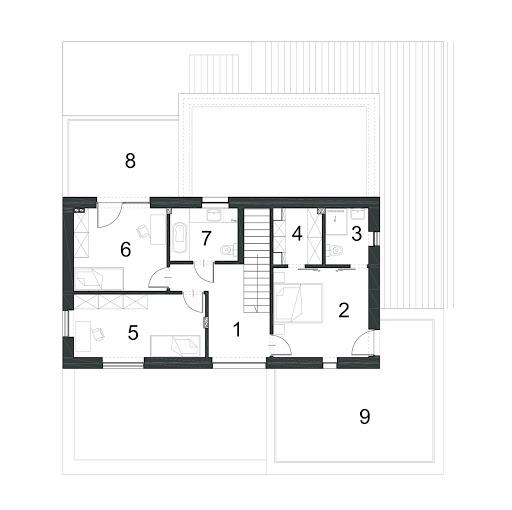 Alternatywny D35 - Rzut piętra