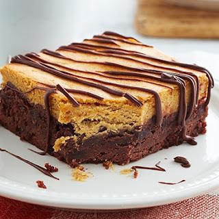 Pumpkin Cheesecake Brownies.