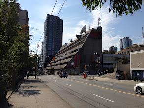 Photo: CBC / Radio Canada Thompson, Berwick, Pratt & Partners 1975  Hotson Bakker Boniface Haden 2009