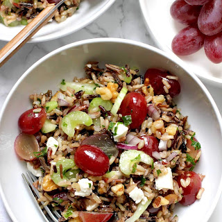 Wild Rice Salad with Grapes Recipe