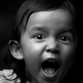 scream ! by Arief Siswandhono - Babies & Children Children Candids