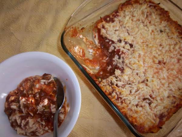 Chili With Beans Mexican Dip