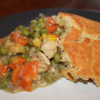 Gluten Free Chicken Pot Pie.