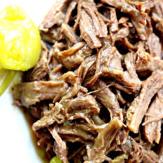 Slow Cooker Mississippi Roast (no packets).