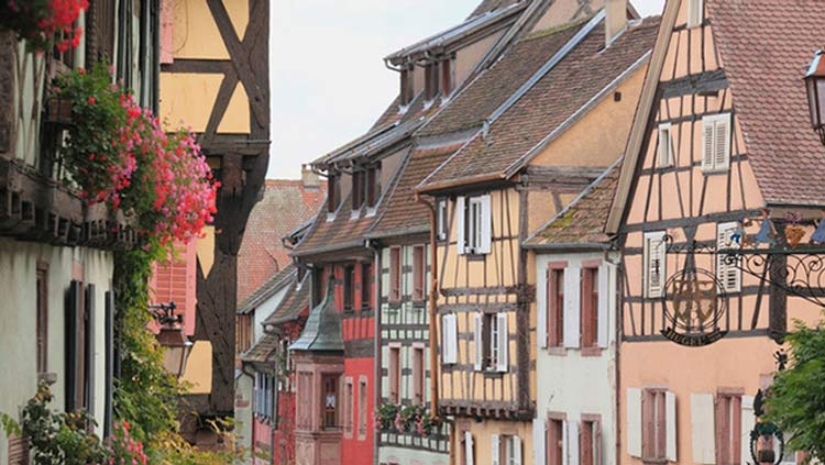 """Riquewihr, a French commune in northeastern France, served as the inspiration for """"Beauty and the Beast."""""""