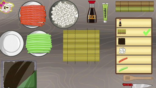 Japanese party: Sushi cooking 1.0.2 screenshots 4
