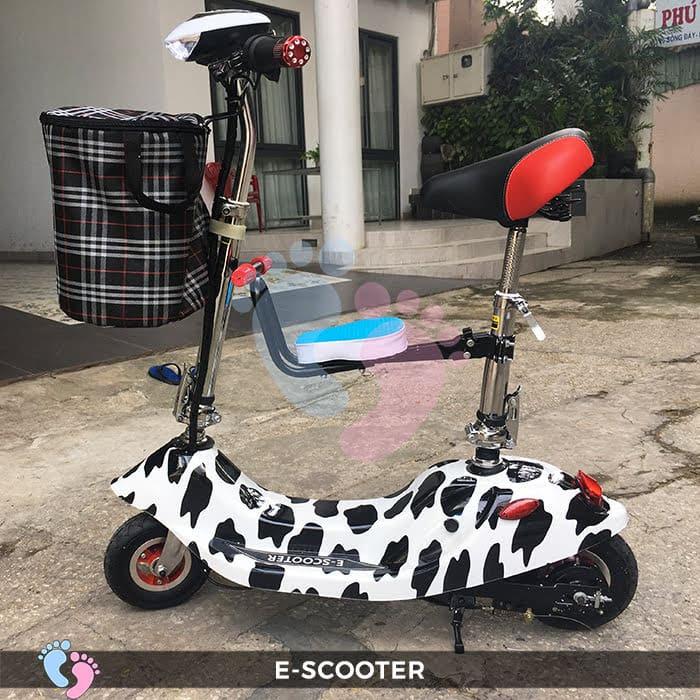 Xe điện E-Scooter mini gấp gọn 8