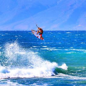 Wind Surfer by John Chitty - Sports & Fitness Surfing ( water, maui, surfing, surfer, ocean,  )