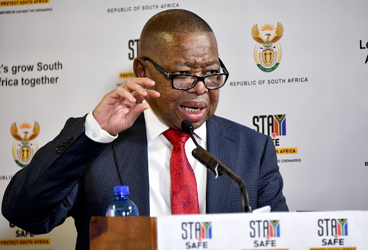 Higher education, science and innovation minister Blade Nzimande said investigation teams were working at institutions where pockets of infection had emerged. File photo.