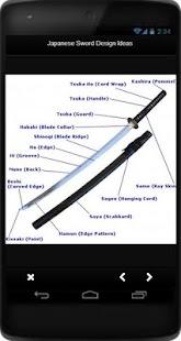 Japanese Sword Design Ideas - náhled