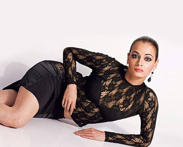 Dia Mirza legs, Dia Mirza in black , Dia Mirza in see through dress