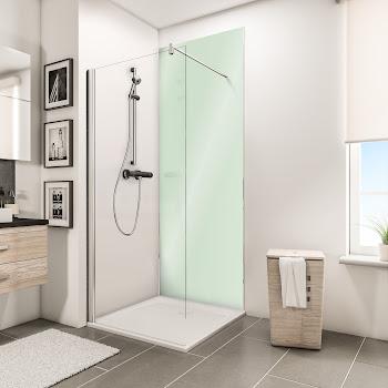 Panneaux muraux DecoDesign BRIO, vert d'eau brillant