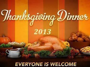 Thanksgiving 2013 Menu Recipe