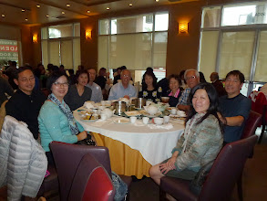 Photo: Back to LA in Jan 2015. Lunch at Lunasia in Alhambra. Ngan Liu, San Jig, Felix Leung, Abe Cheng, Ah Mou & their spouses