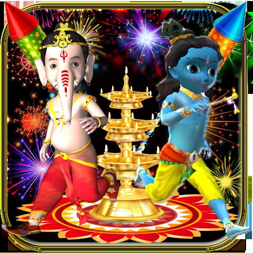Diwali Fireworks 3D Run file APK Free for PC, smart TV Download