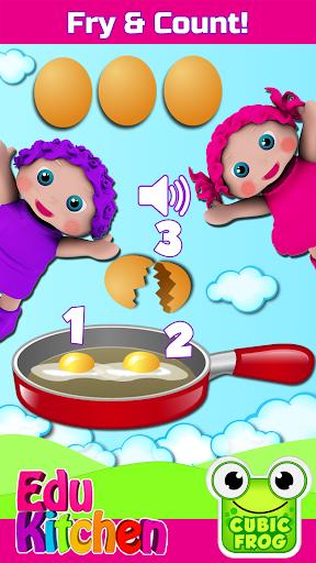 Toddler Kitchen Food Cooking Games-EduKitchen Girl 7.24 screenshots 1