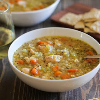 Slow Cooker Chicken and Rice Soup.