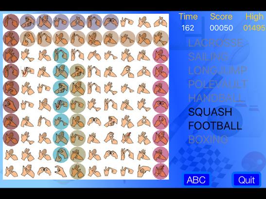 BSL WordSearch screenshot