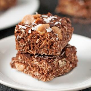 Gluten-Free Coconut Peanut Butter Chocolate Bars (vegan, 100% whole grain, dairy-free)
