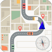 GPS Route Finder with Maps